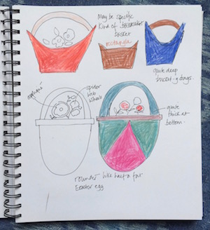baskets sketchbook 2