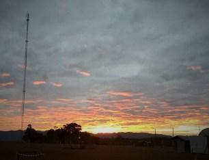Sunset on Sanxai Plateau (photo by Sandra McCullough)