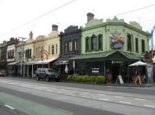 Brunswick Street cafe culture
