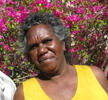 Aboriginal lady at Katherine