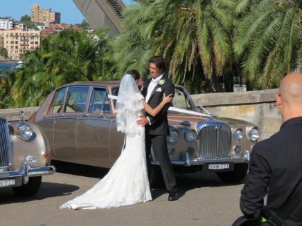 Getting married under the bridge