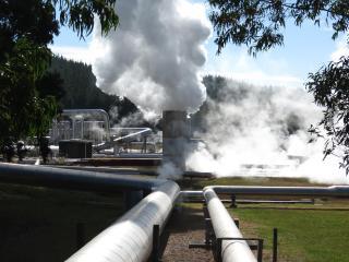 Wairakie thermal power