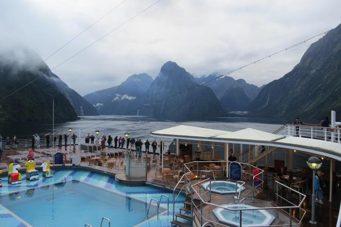 Taking photos of Milford Sounds