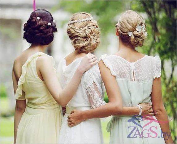 Прически на свадьбу: укладки на длинные, средние и ...