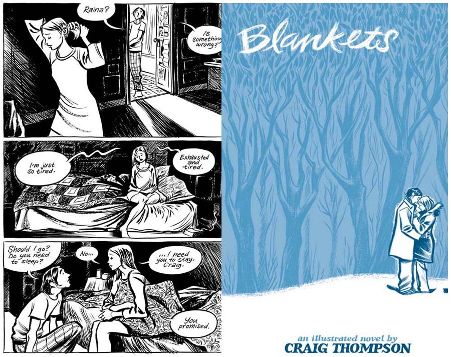 Image result for blankets book