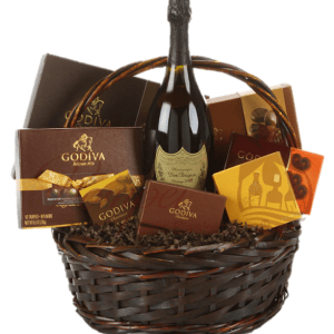 The Dom Diva Champagne Gift Basket