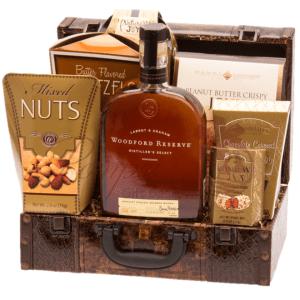 Sophisticated Reserve Whiskey Gift Basket