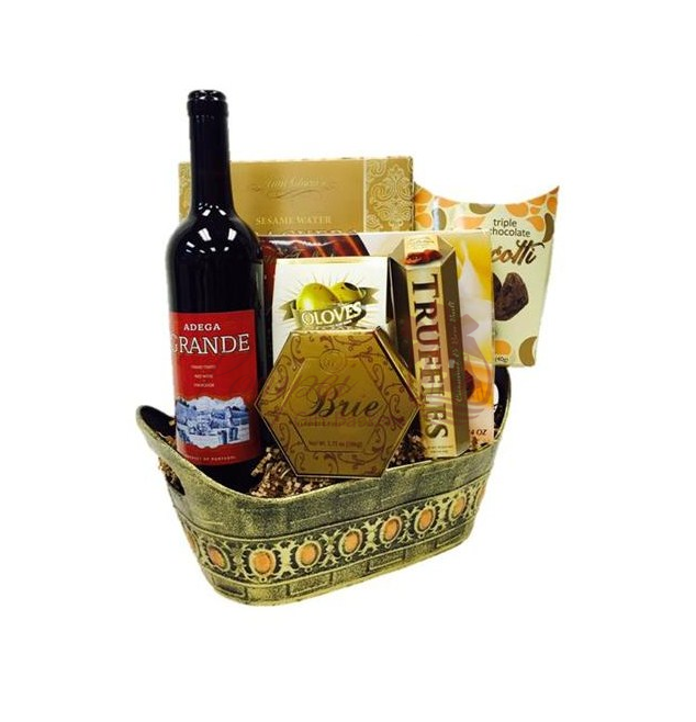 Chocolate And Wine Gift Baskets NJ