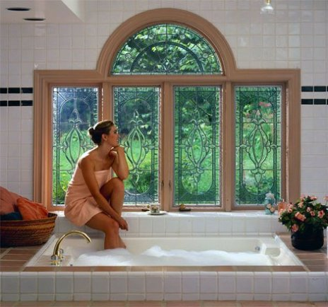 Stained Glass Window - Jacuzzi Window