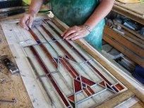 Frank Loyd Wright Inspired Window 2