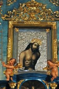 Kościół Najświętszej Krwi Chrystusa – obraz w ołtarzu