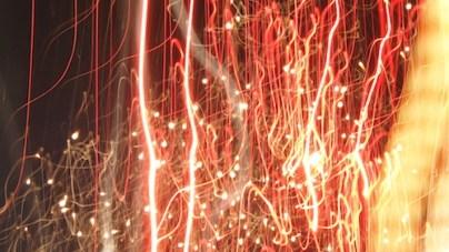Sztuczne ognie na pół godziny :)