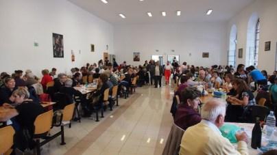 Czas na posiłek w Domu Pielgrzyma