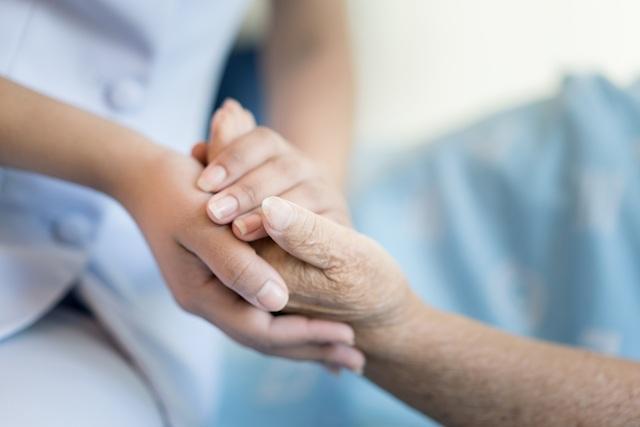 Opieka i ręce