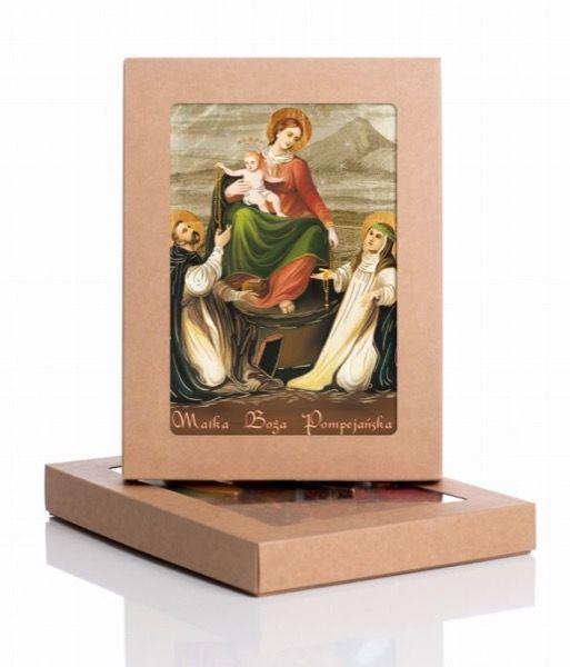 Książka: Ikona Matki Bożej Pompejańskiej