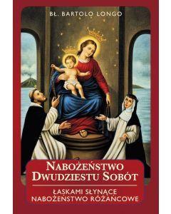Książka: Nabożeństwo dwudziestu sobót - Bartolo Longo