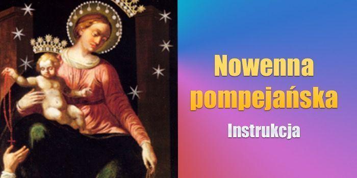 Nowenna pompejanska instrukcja