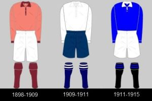 Portsmouth shirts 1898-1911