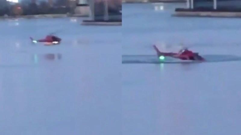 ?? New York : 5 morts dans le crash d'un hélicoptère dans l'East River