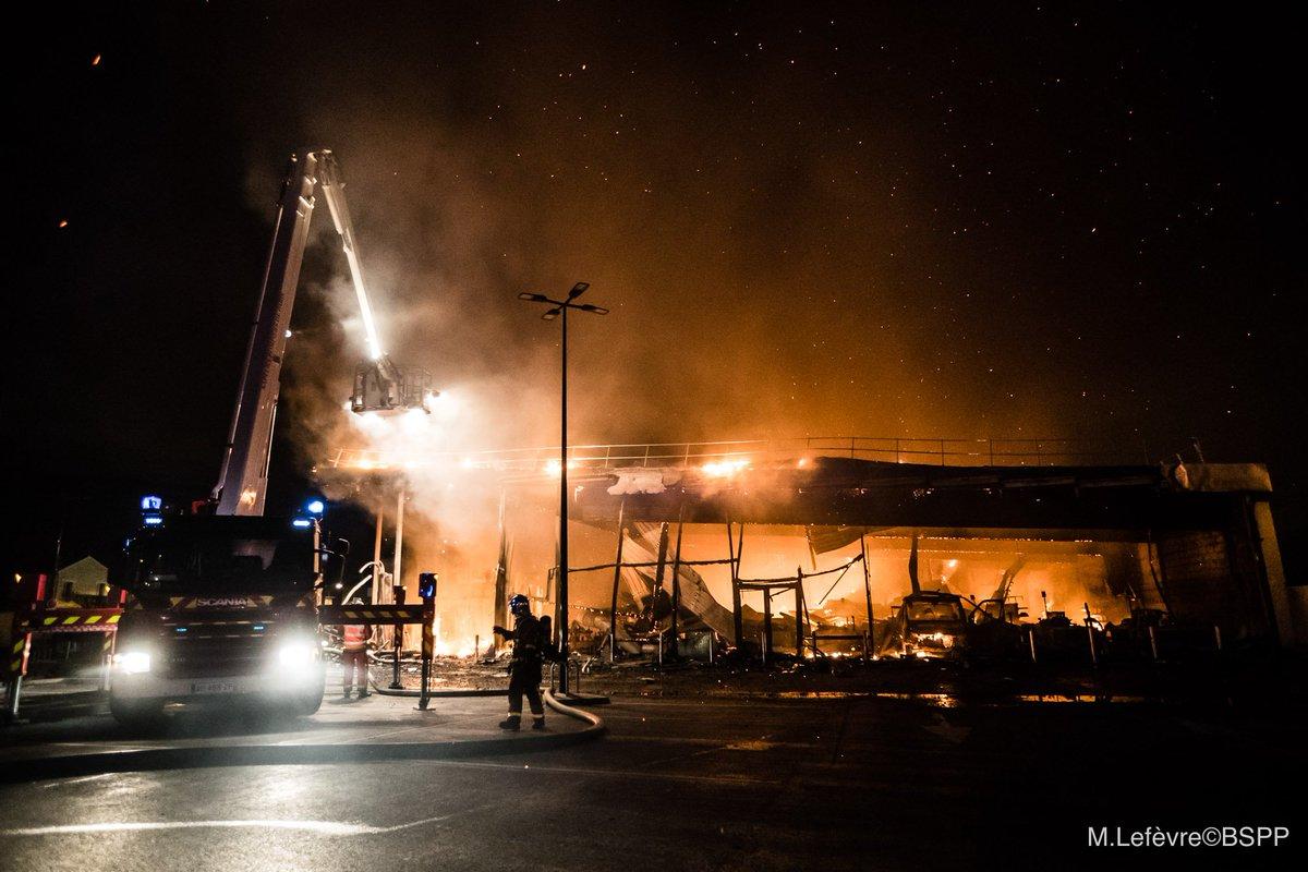 ?? Pierrefitte-sur-Seine (93) : Incendie volontaire dans un supermarché