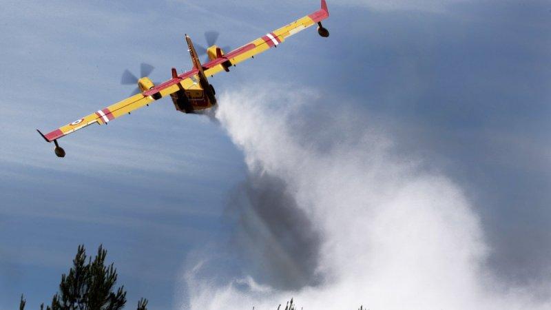 🇫🇷 Cabrières et Bessan (30 et 34) : Deux départs de feux de forêt dans la pinède