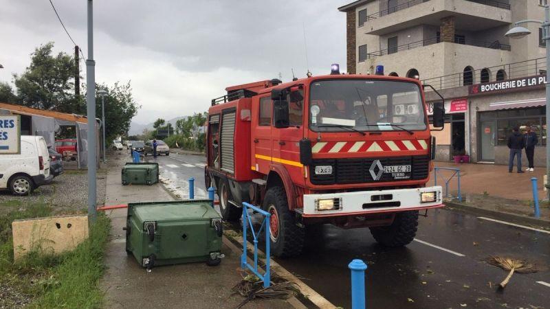 🇫🇷 Corse : Violente tempête d'une ampleur exceptionnelle