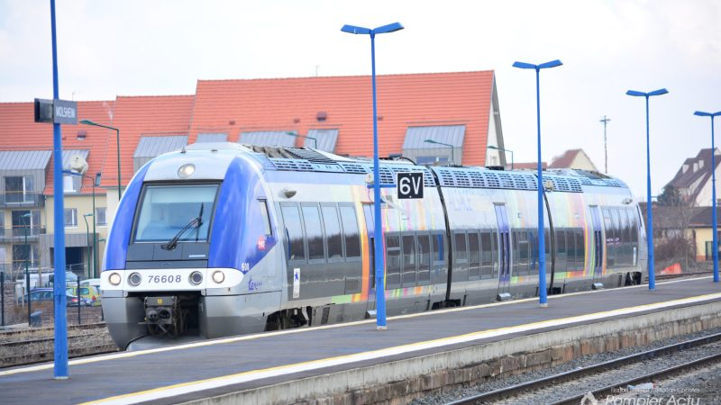 🇫🇷 Strasbourg (67) : Un TER percute des agents SNCF