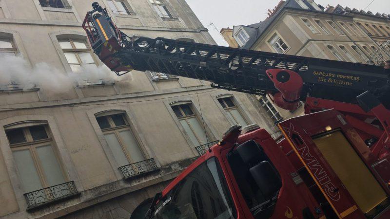 🇫🇷 Rennes (35) : Trente pompiers mobilisés pour un exercice incendie