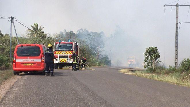 ?? Nouvelle-Calédonie (988) : Décès d'un pompier dans un feu de forêt
