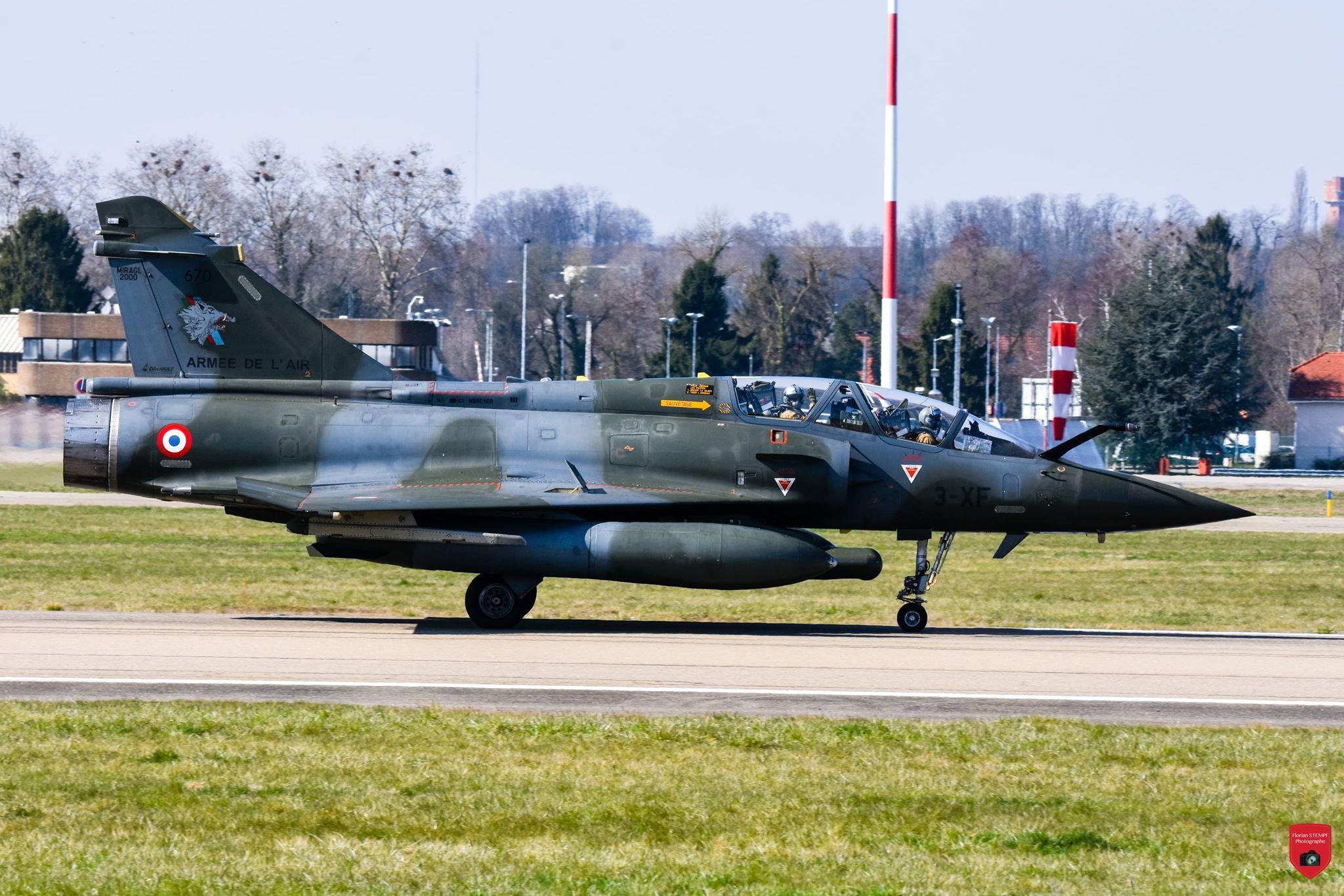 ?? Jura (39) : Crash d'un Mirage 2000 de l'Armée de l'air