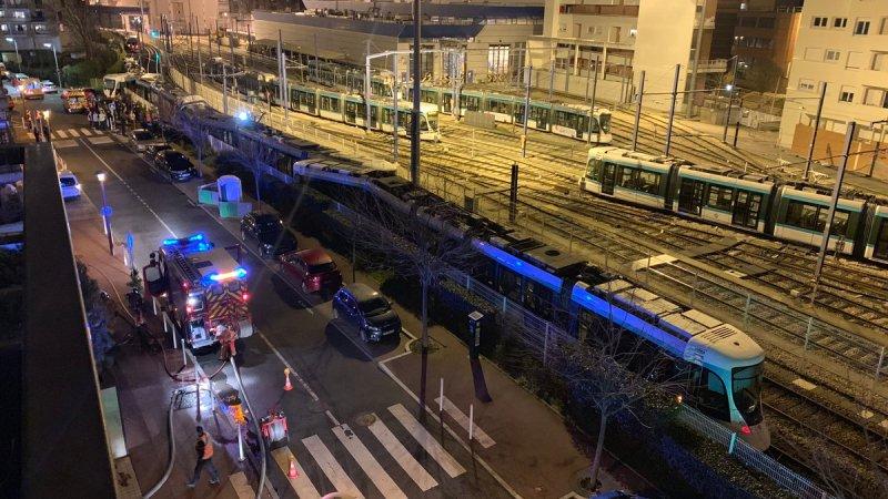 🇫🇷 Issy-les-Moulineaux (92) : Plusieurs blessés après une collision entre deux tramways