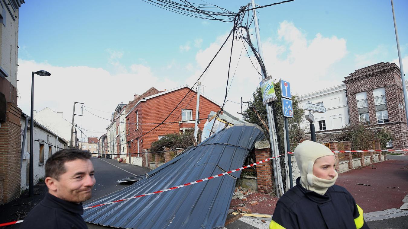 ?? Nord (59) : Plus de 1 300 interventions diverses à cause de la tempête