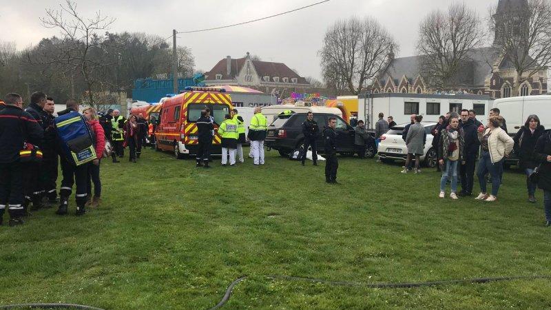 🇫🇷 Bapaume (62) : Accident de manège dans une foire