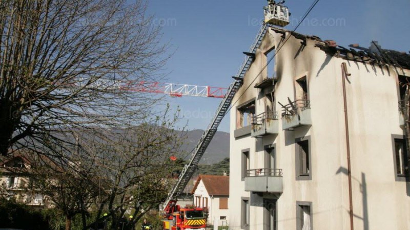 🇫🇷 Brison-Saint-Innoncent (73) : 11 personnes évacuées suite à un incendie dans leur immeuble