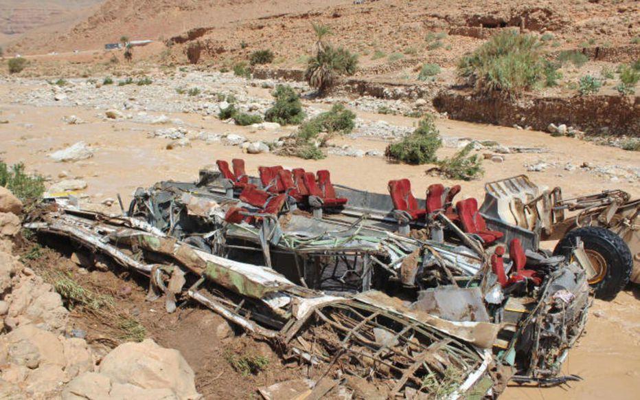?? Maroc : 17 morts dans accident de bus