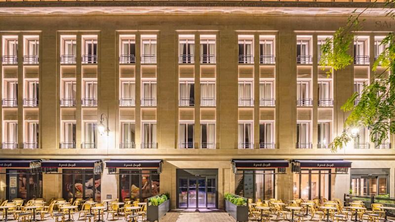 🇫🇷 Reims (51) : Transformation d'une caserne en hôtel de luxe