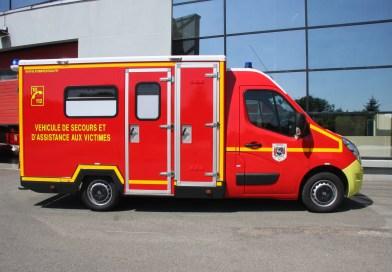 Un nouveau VSAV au centre de secours de Belfort-sud
