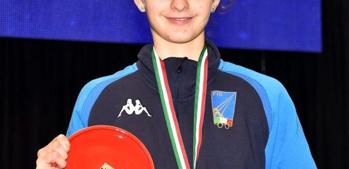 ORO ai campionati del mediterraneo per Anita Corradino