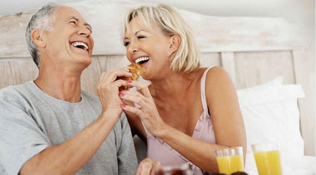 O sexo fortalece a sensação geral de bem-estar.