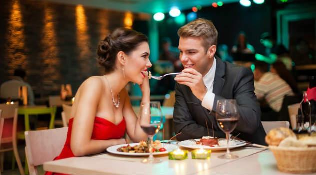 fazer amor depois do jantar a luz de velas