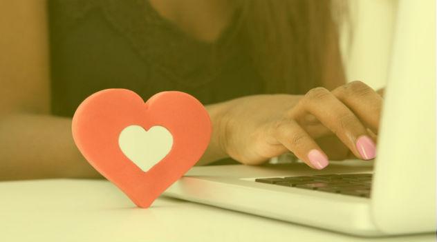namoro pela internet