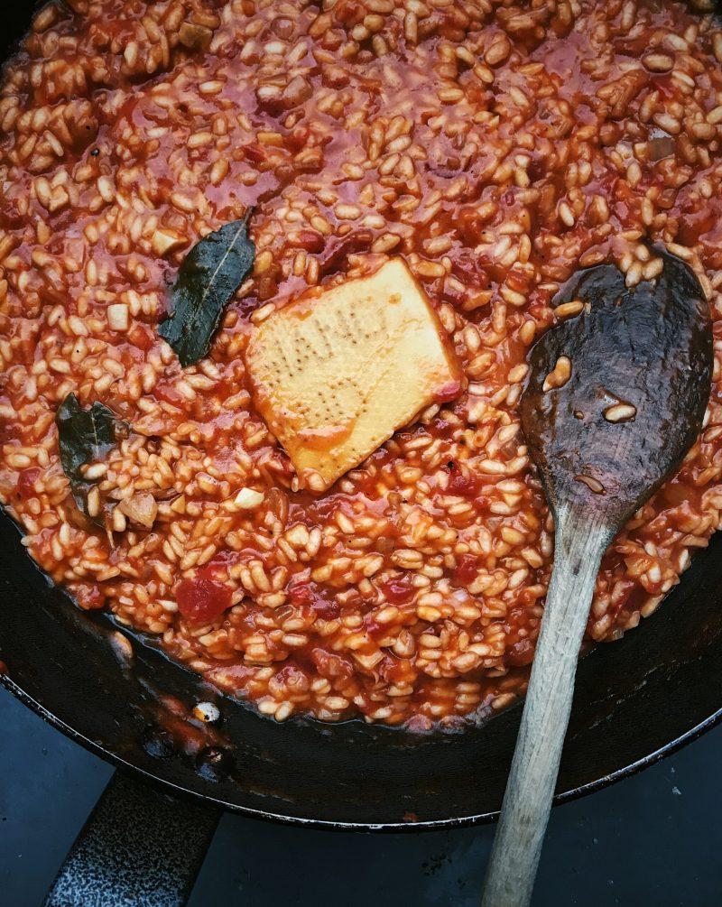 Tinned Tomato Pomodoro Risotto