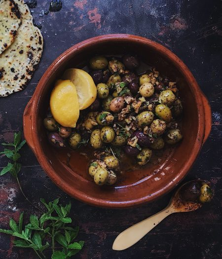 Zeytoon Parvardeh – Persian Marinated Olives