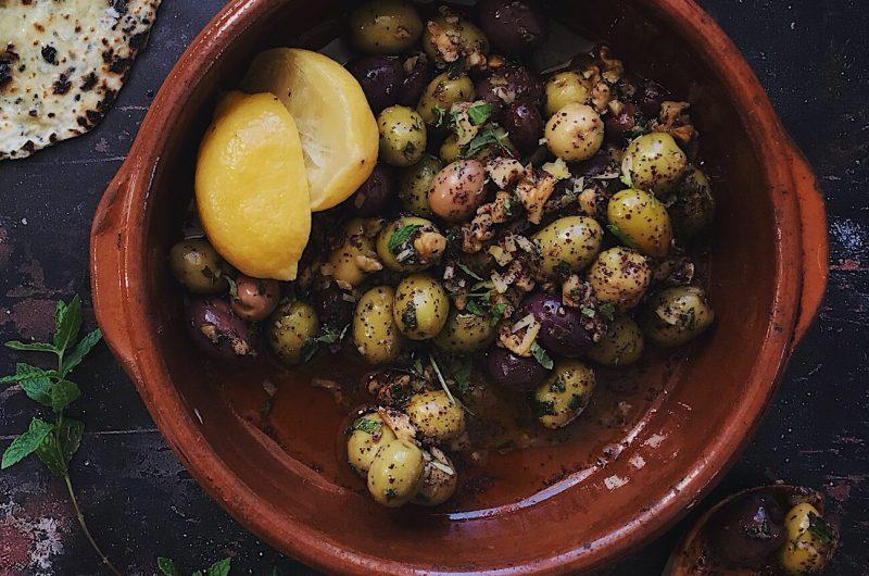 Zeytoon Parvardeh - Persian Marinated Olives