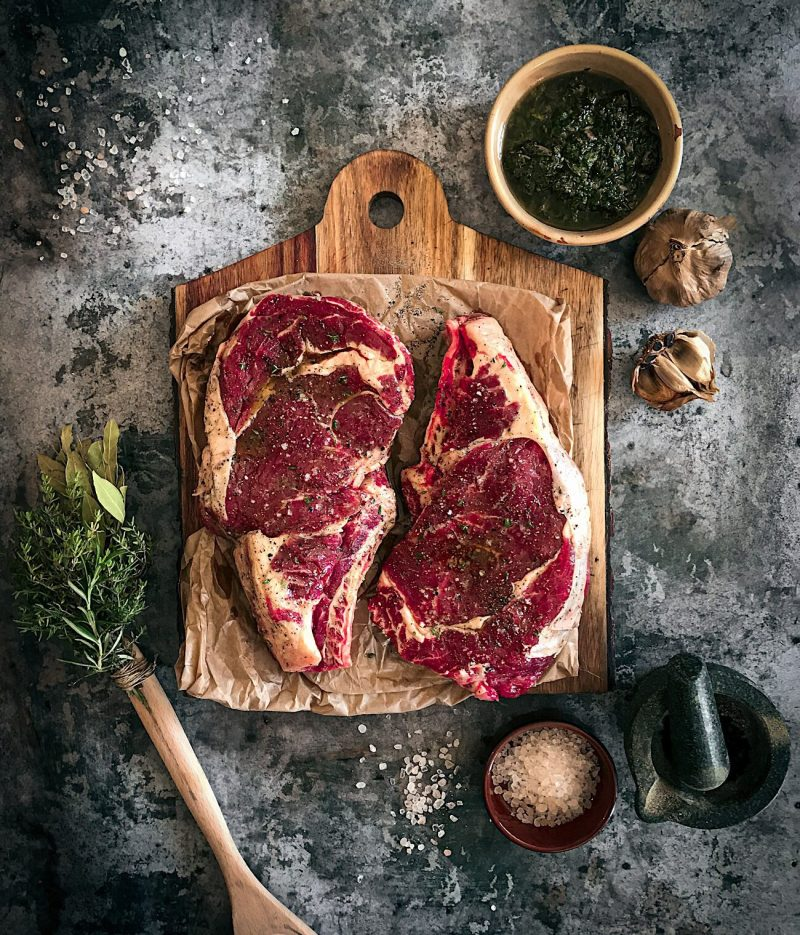 Pan-Seared & Brown-Butter Basted Perfect Steak