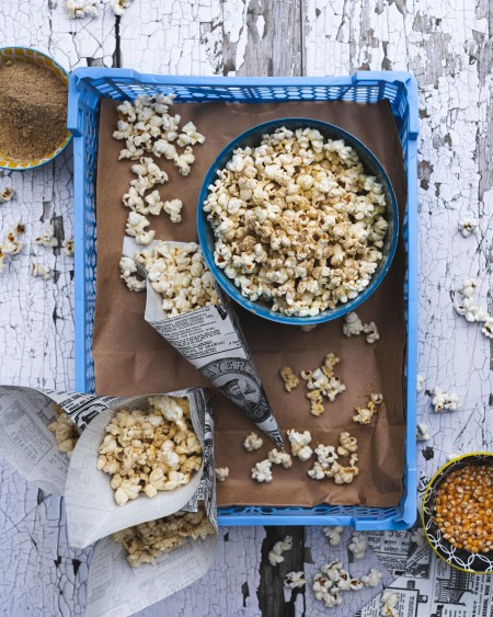 Chaat Masala Spiced Popcorn