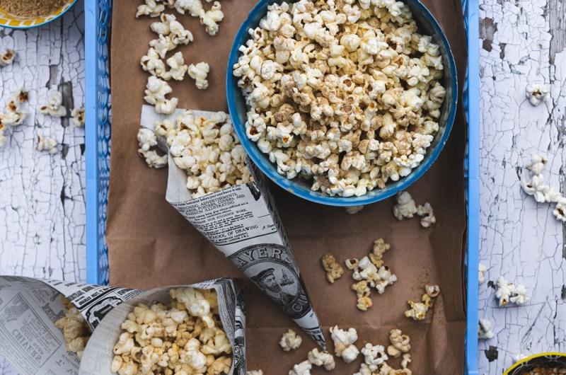 Chaat Masala Popcorn