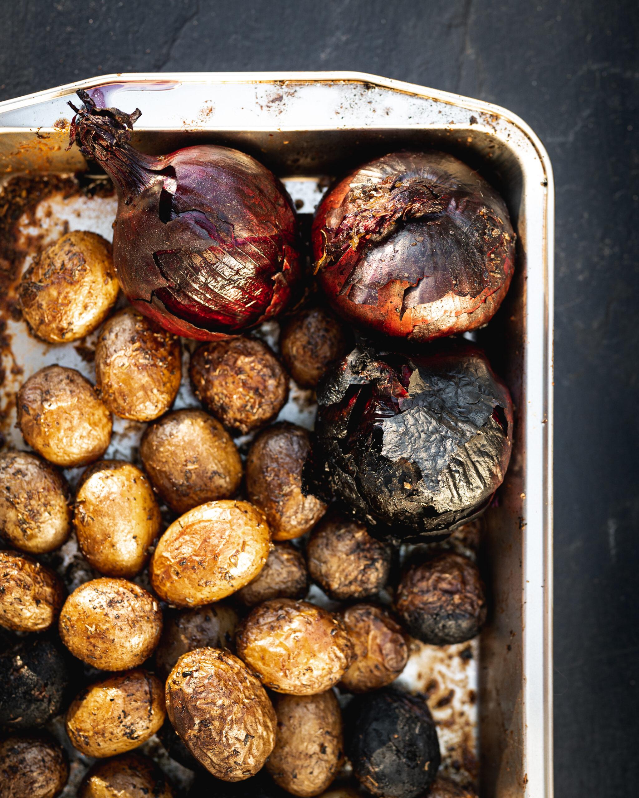 BBQ Smoked Potatoes