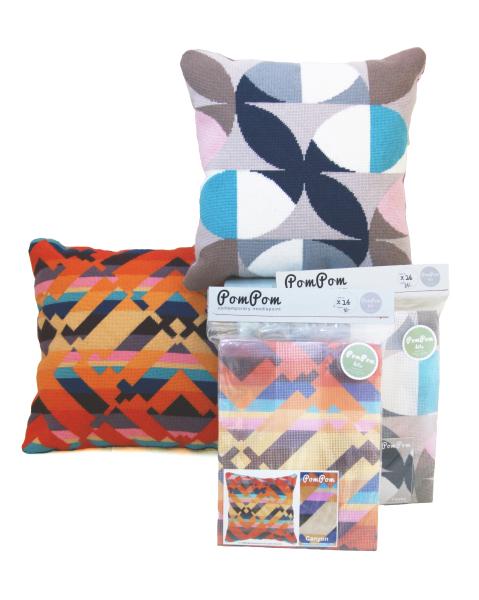 POMPOM Design Kits & Pillows w