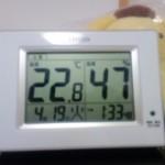 温湿度計買いました。